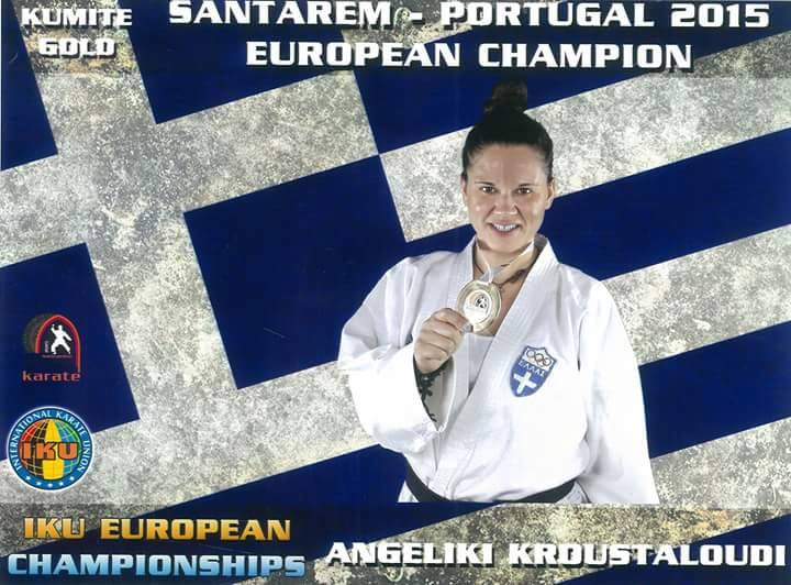 aggeliki european champion
